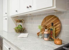Marble or granite for kitchen countertop