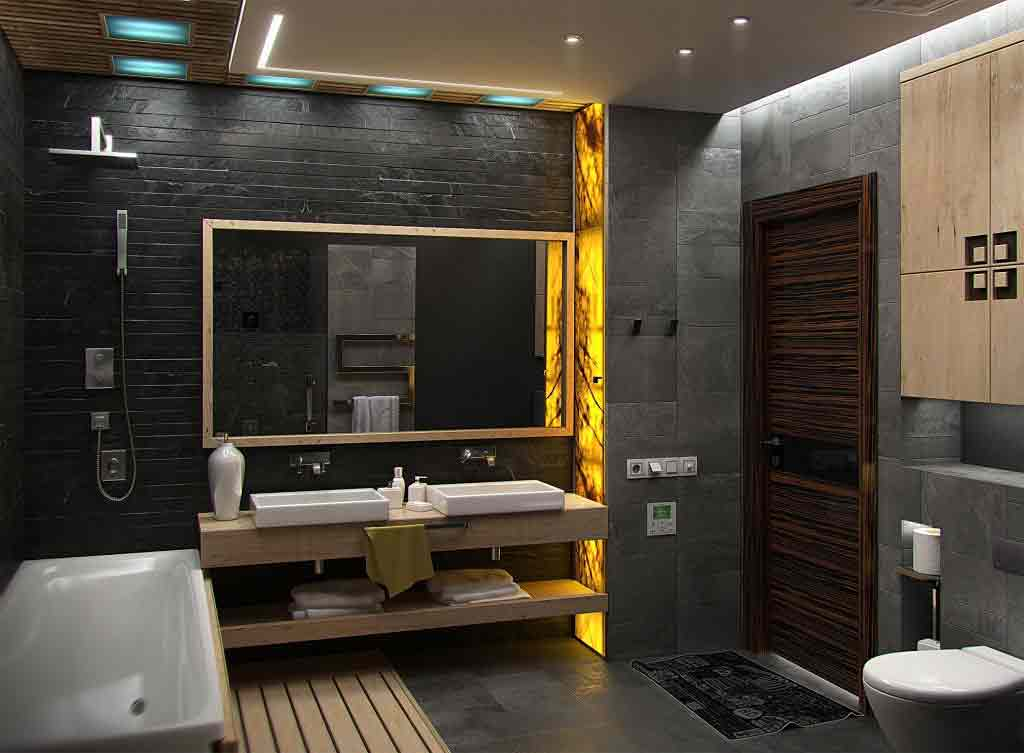 Illuminated Onyx marble is used to create attractive look after installing lighting behind it because it is characterized by a light-permeable surface