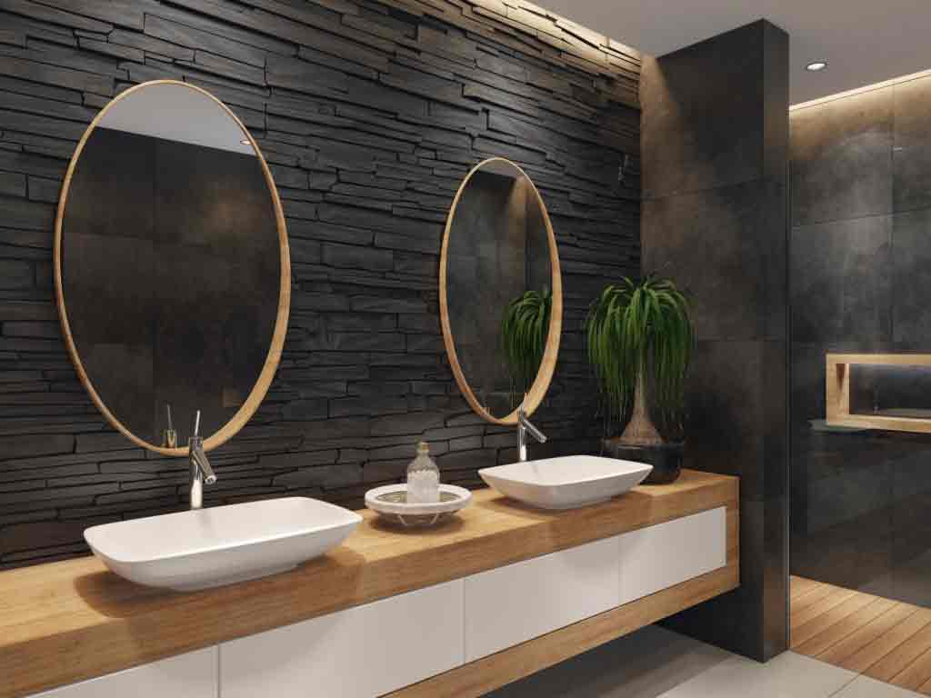 Interior decorative stone slats are widely used in interior and exterior decoration due to its strength and its abundance of colors