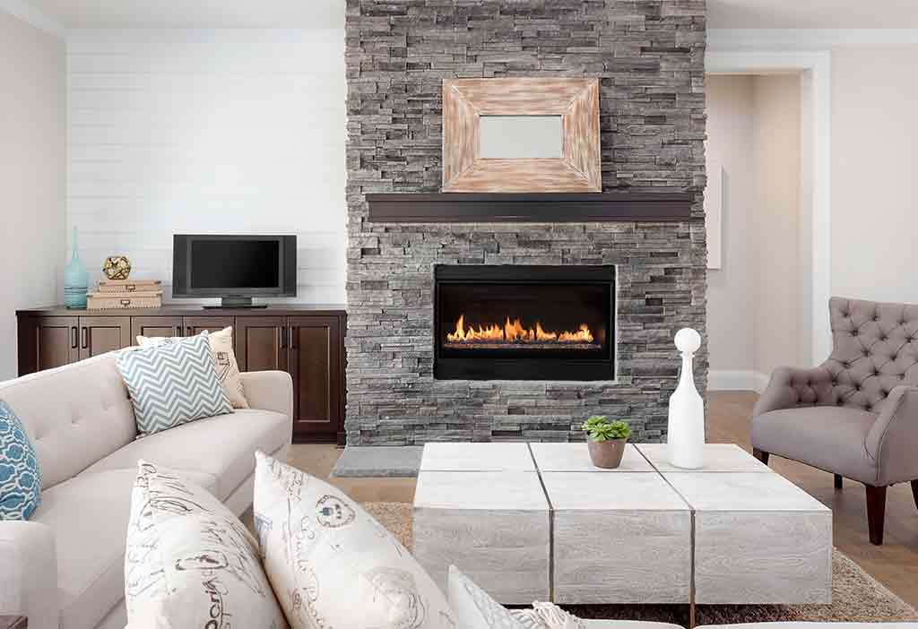 How is choosing interior decorative stone in home or office
